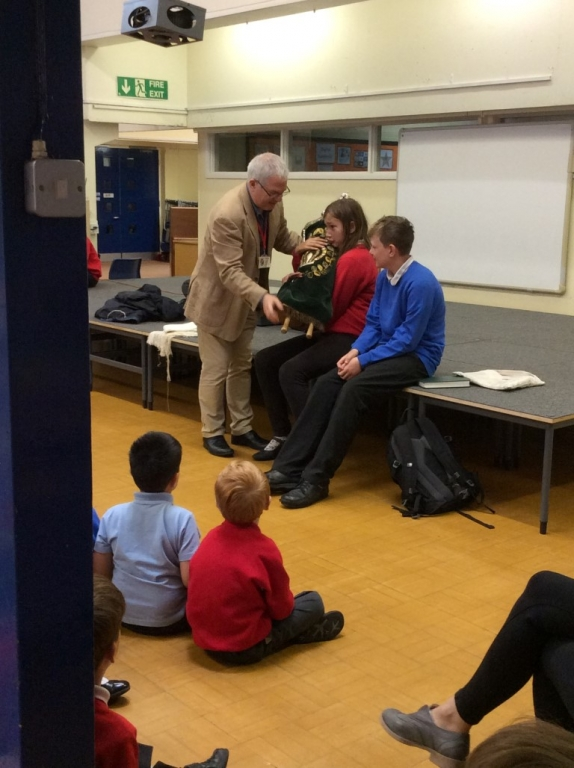 Visit from Ben Rich (3)