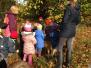 Reception visiting the Arboretum