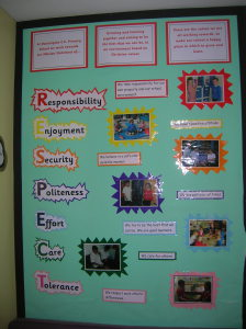 School Values Display
